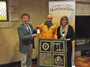 Fabrice Camus lauréat concours des vins de Monbazillace 2015
